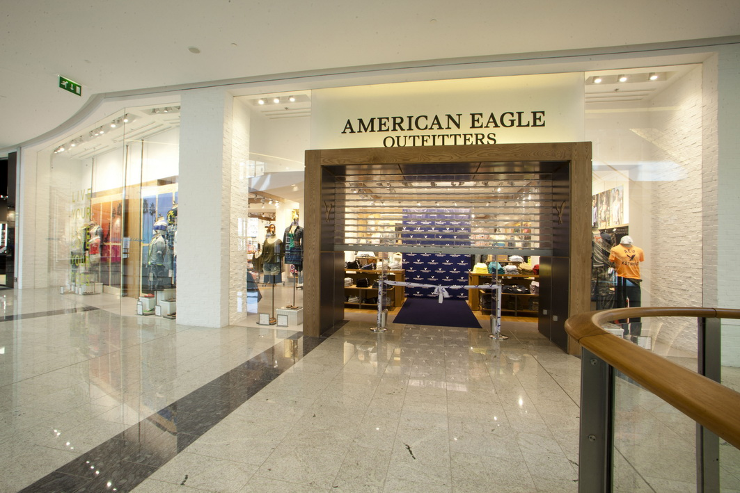Home > Outlet Stores > American Eagle Outfitters Factory Outlet. American Eagle Outfitters Factory Outlet. Find American Eagle Outfitters Factory Outlet Locations * Store locations can change frequently. Please check directly with the retailer for a current list of locations before your visit.
