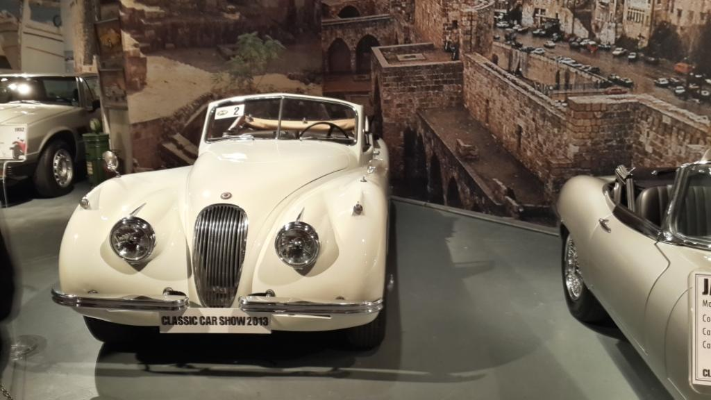 Jaguar XK 120 Roadster - 1952 Model owned by Selim Deriane.