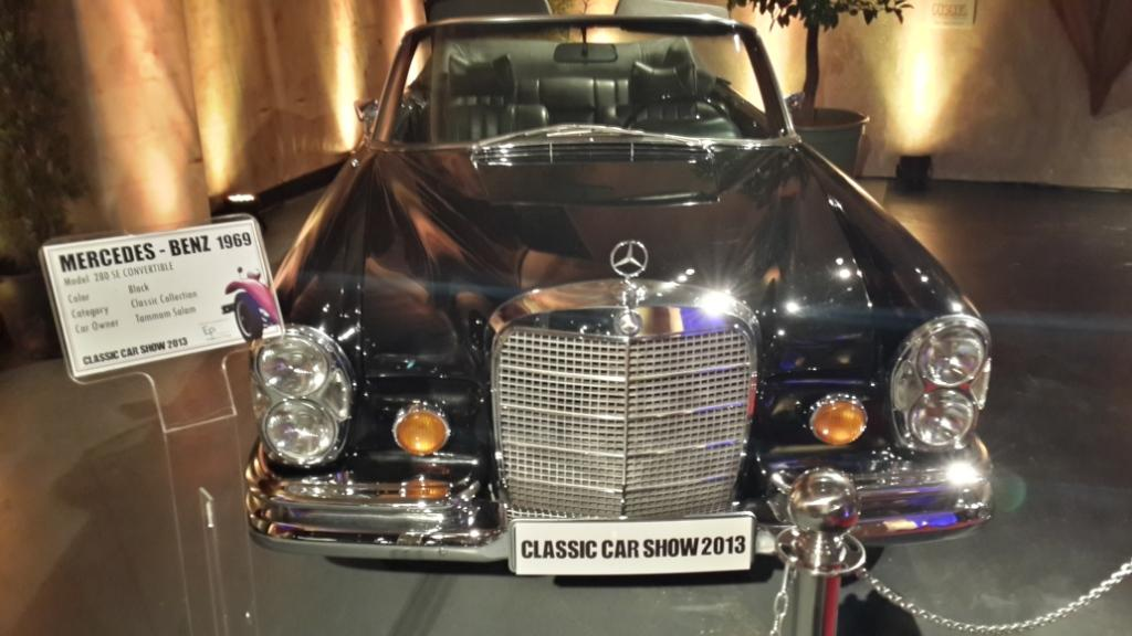 Mercedes-Benz 280 SE Convertible - 1969 Model owned by HE Tammam Salam.