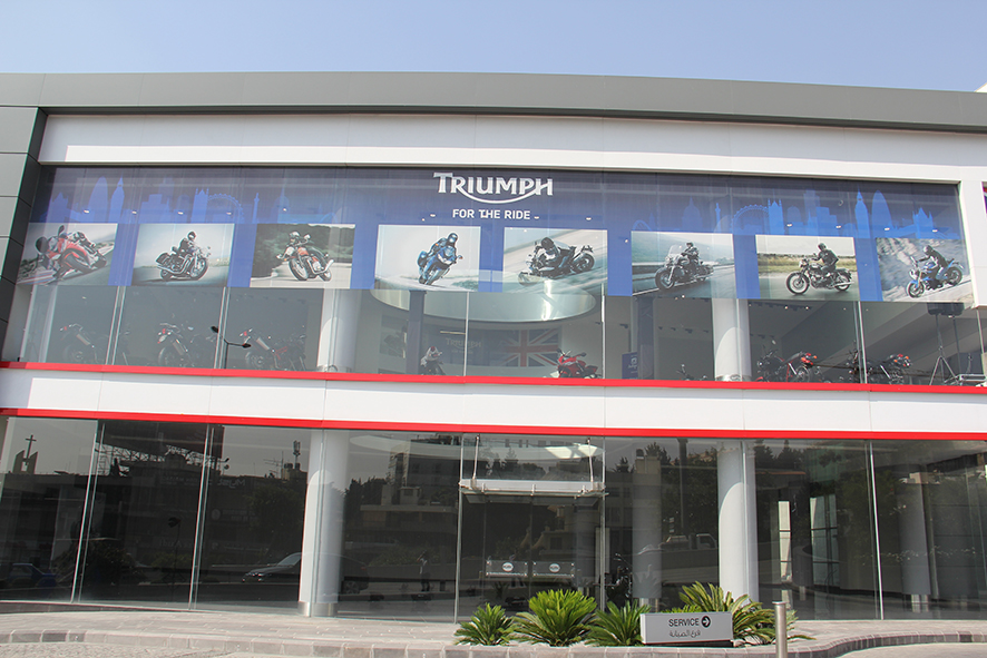 Triumph headquarters