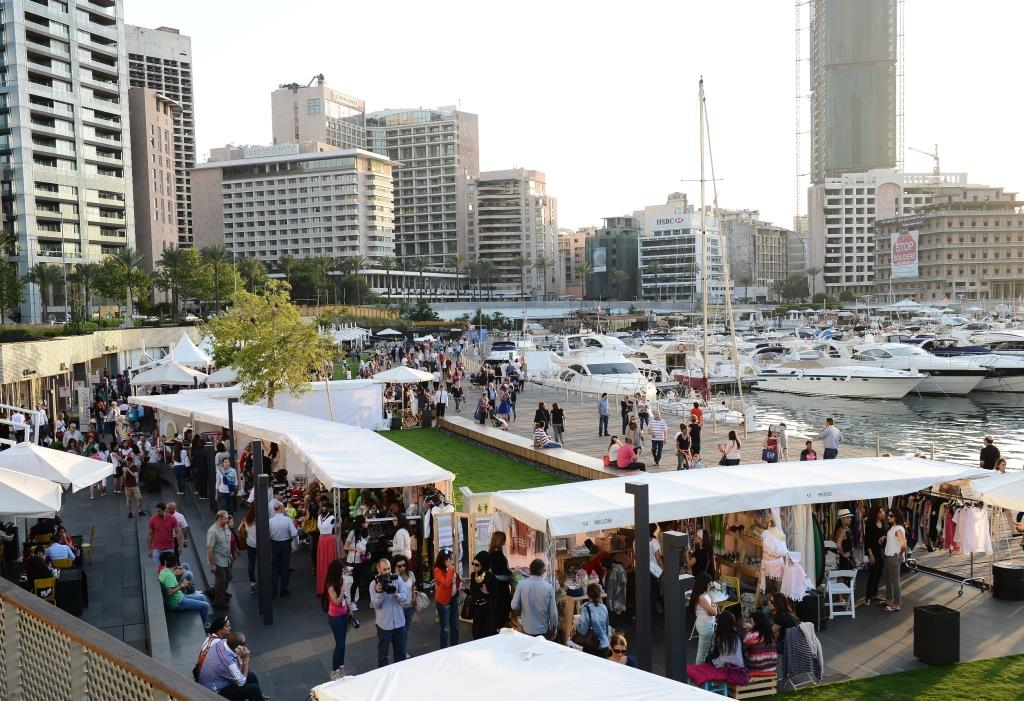 Beirut Design Week at Zaitunay Bay