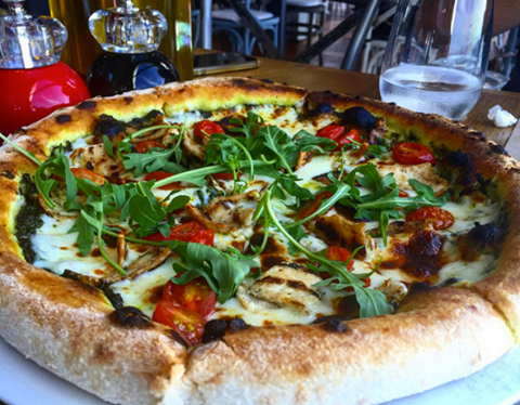 You should try Popolo's exquisite Pizzas!
