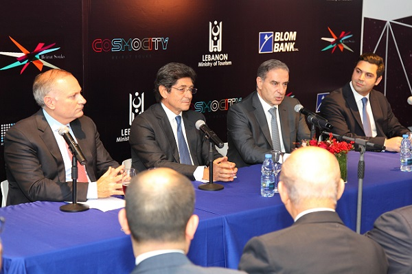 Press conference for the launching of Cosmocity.